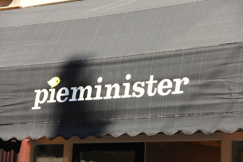 Sadly, none of the Pieminister's pies were eaten that day.