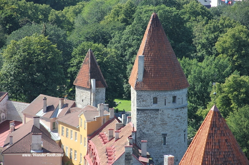 """The reason people so often preface the name Tallinn with the words """"fairy-tale"""" is because it actually looks like it's the setting for a fairy-tale."""