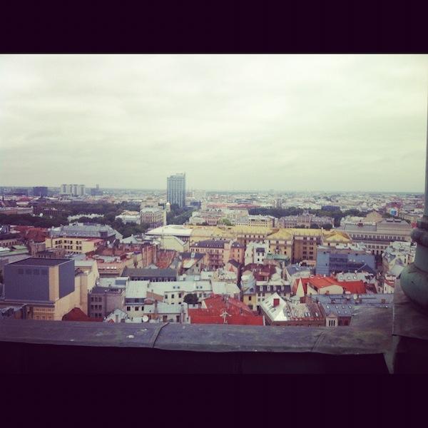 Instagram view of Riga Latvia