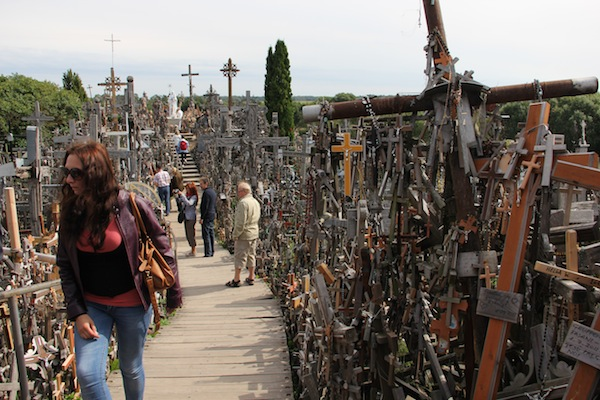The Hill of Crosses (and the Time We Took a Taxi to Another Country)