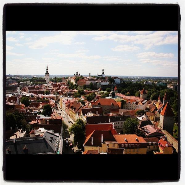 Instagram View of Tallinn Estonia