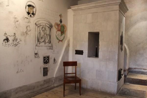 The old student prison in Tartu Estonia