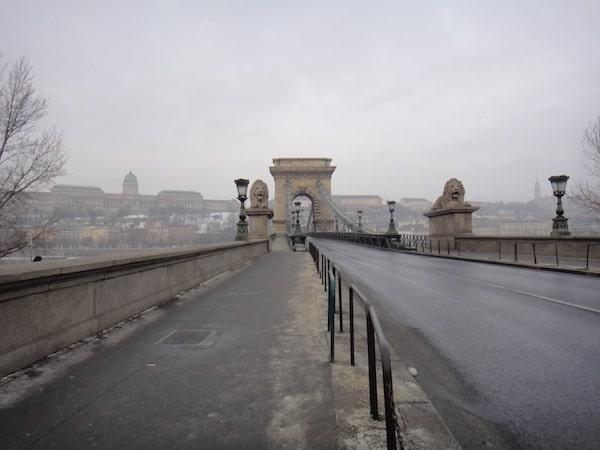 Budapest itinerary Chain Bridge