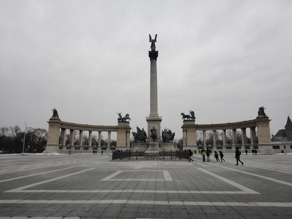 Budapest Itinerary Heroes Square