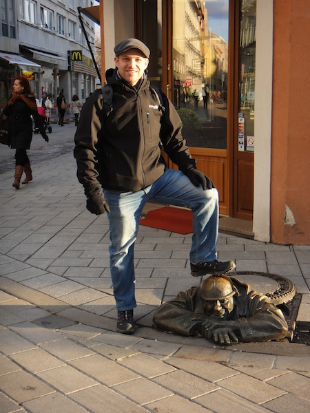 This statue is one of the more famous statues in Bratislava