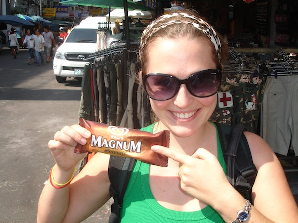 And I would have eaten one of these every day, because Magnums are hands down the best mass-produced ice cream bar ever made. Ever.