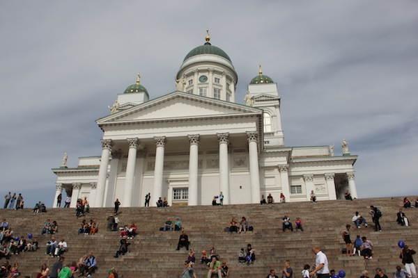 """Helsinki's WHite Church"""