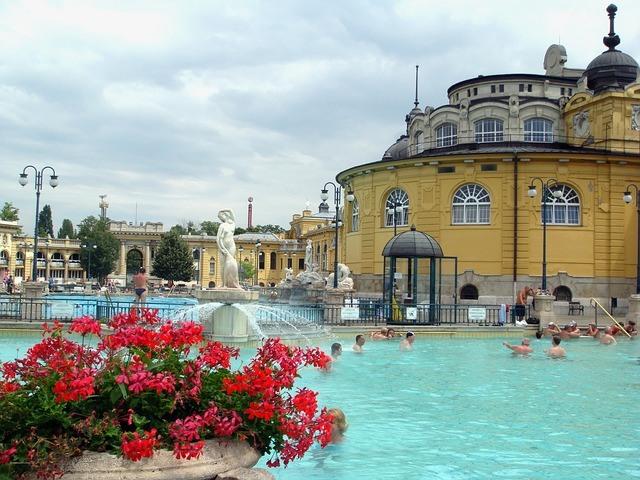 Széchenyi baths budapest itinerary