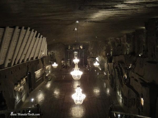 """""""wieliczka underground salt cathedral near Krakow Poland"""""""