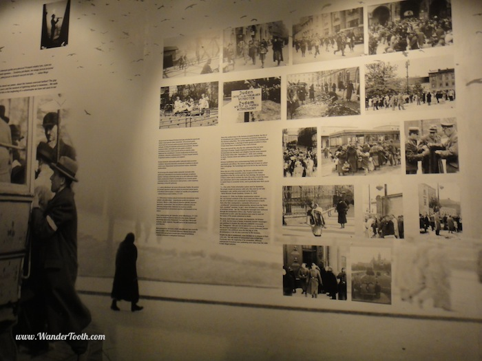 """Display in the Schindler Museum"""