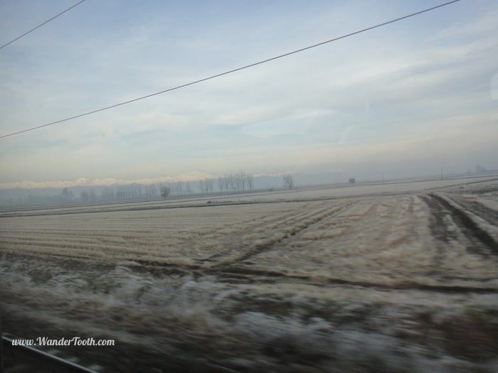 On the way to Turin, Italy