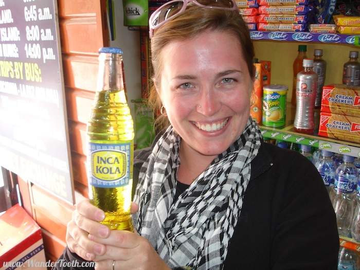 Inca Cola in Peru