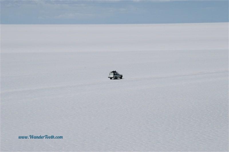 Salt Flats, salt desert