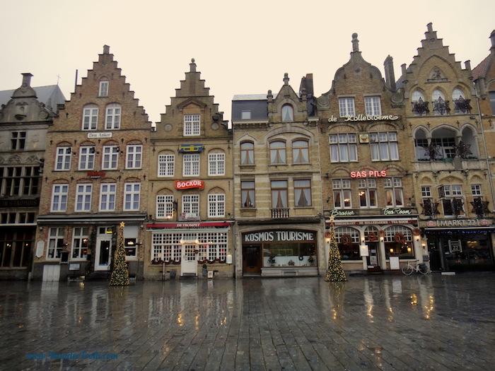 Ypres Belgium Town Square