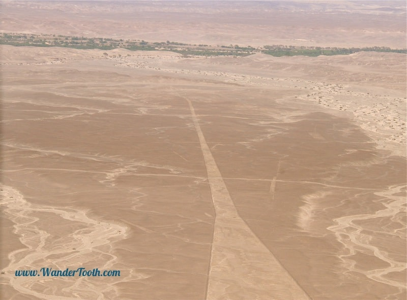 An alien landing strip on the Nazca Desert?