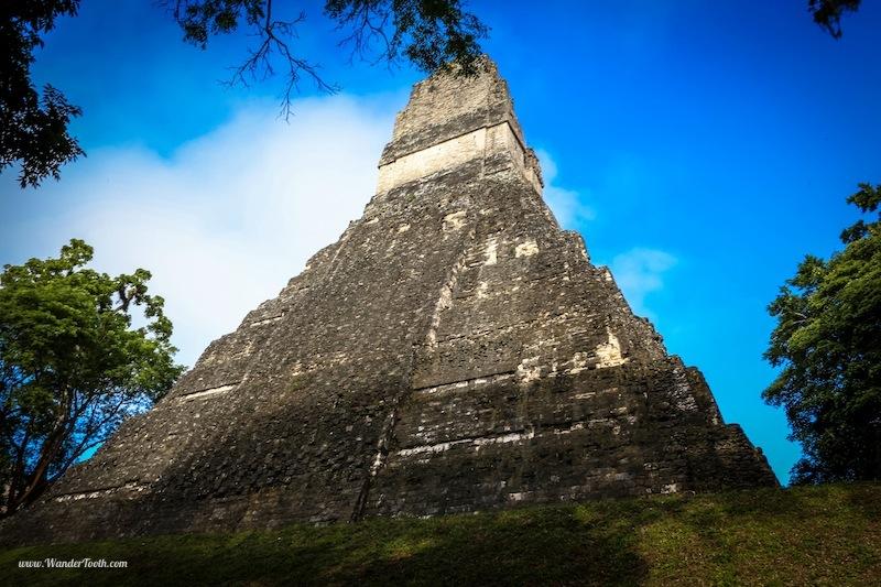 Tikal Guatemala Mayan Ruins Pyramid