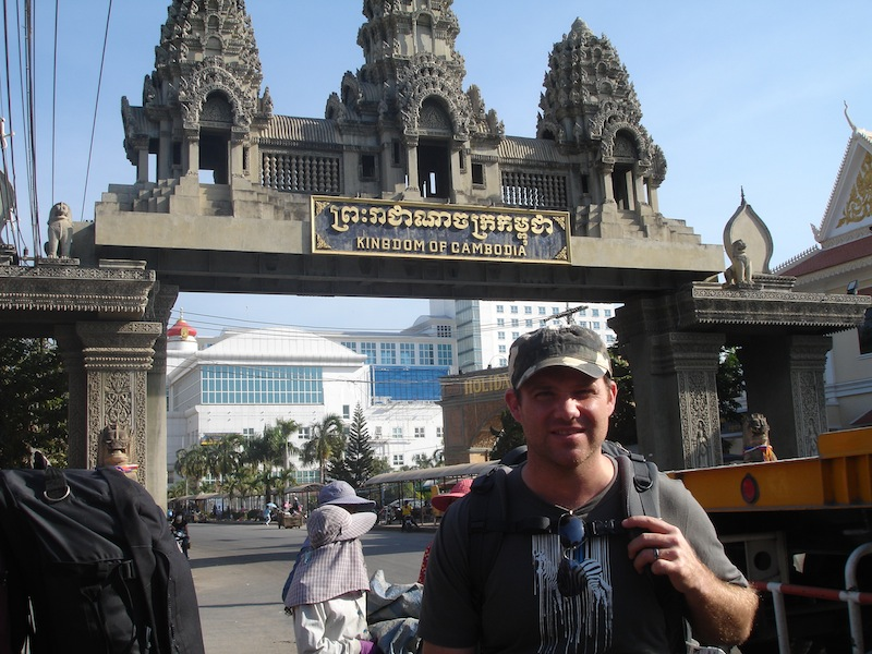 Thai Cambodia Border Crossing