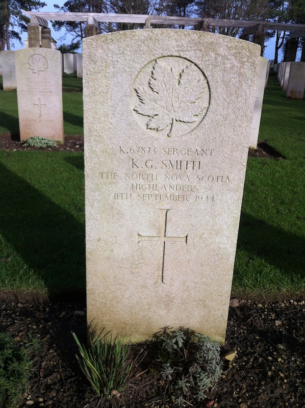 Ken Smith Ryes War Cemetery France
