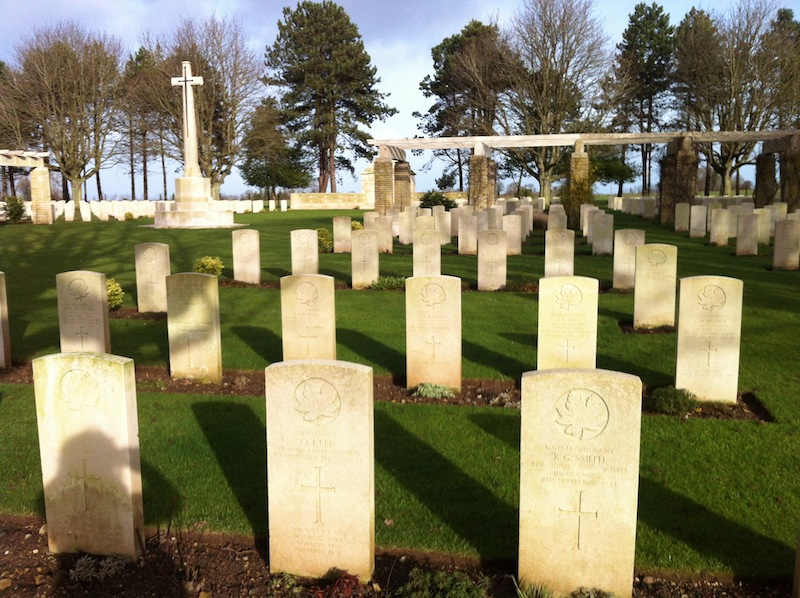 A Hilltop in Normandy: My Great Uncle Ken's Grave from WWII