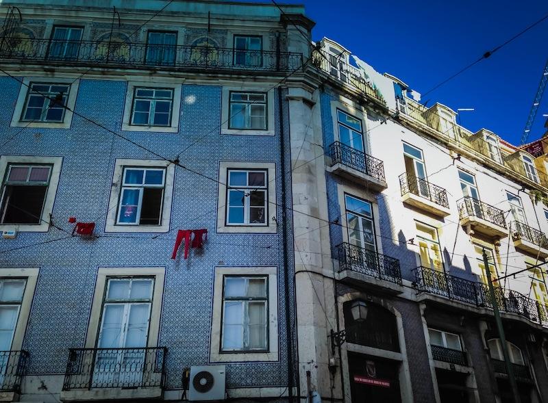 Azulejos Lisbon Building