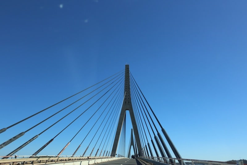 The bridge to Spain
