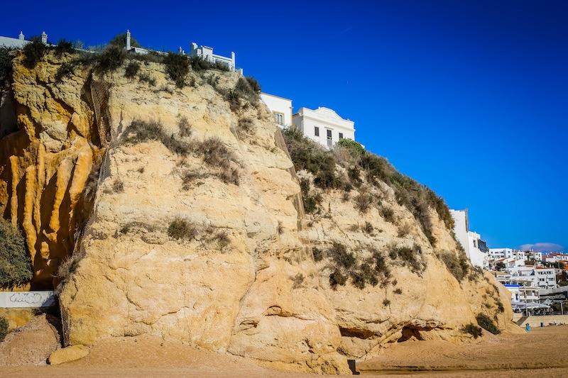 Cliffs of Albufeira