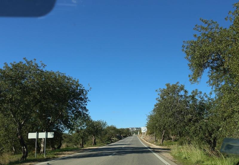 Driving in the Algarve