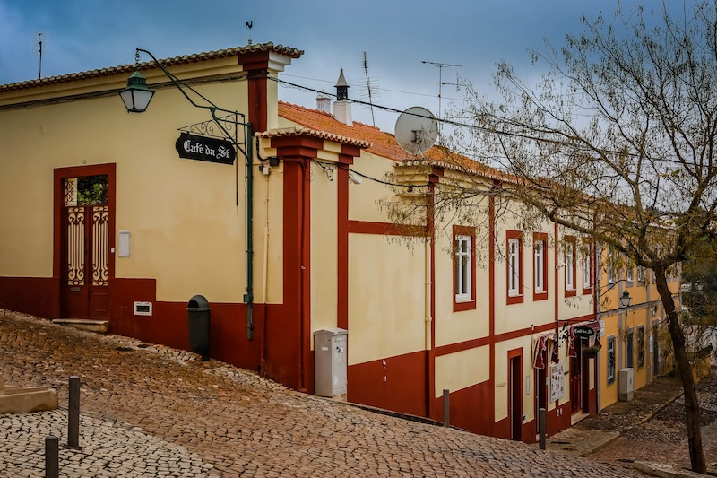 Silves Portugal Town