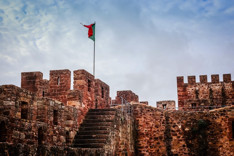 Castle in Silves Portugal