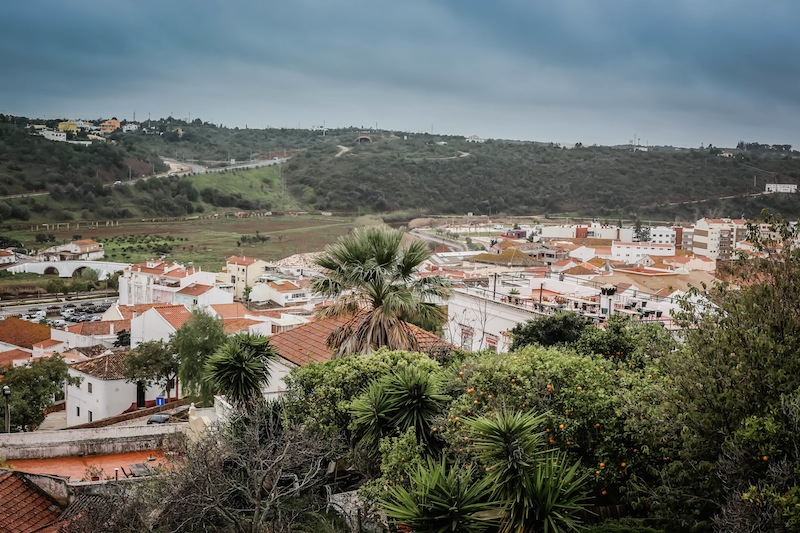View of Silves Portugal