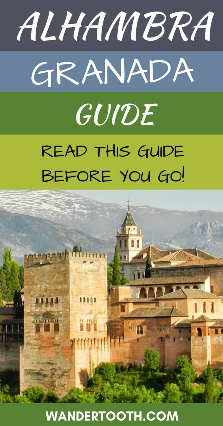 Tips for Visiting the Alhambra in Granada, Spain - know before you go all out tips for visiting the Alhambra.