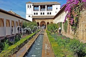 Generalife Gardens and Pool Alhambra Granada