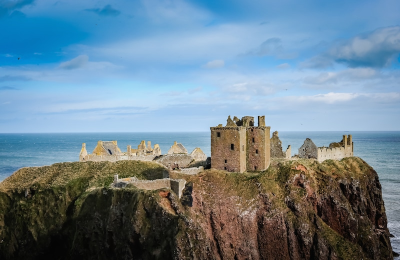 dunnottar castle scotland beautiful scottish castle