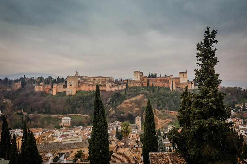 View of Alhambra Granada