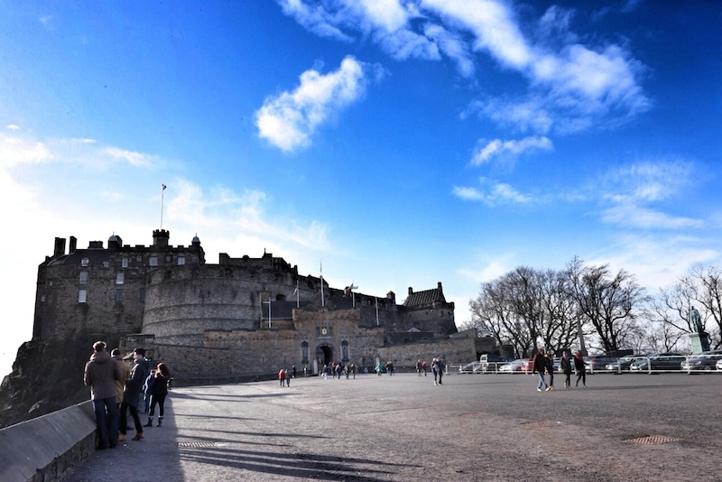 Edinburgh scottish castle
