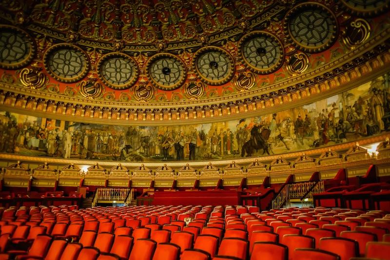 Romanian Athenaeum Bucharest Concert Hall Interior