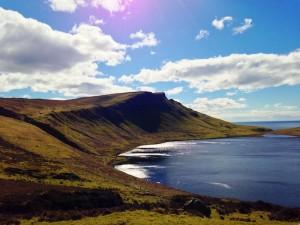 A view of Neist Point Isle of Skye Scotland