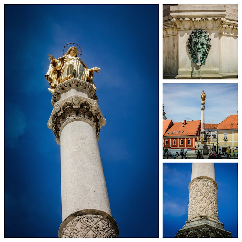 Holy Mary Column Zagreb