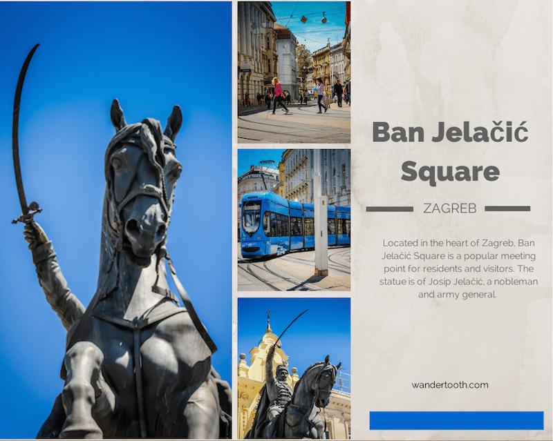 Ban Jelačić Square Zagreb