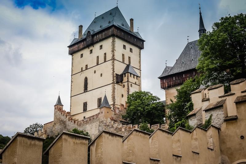 Karlstejn Czech Republic  city photos : Castle in karlstejn czech republic