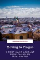 moving to prague