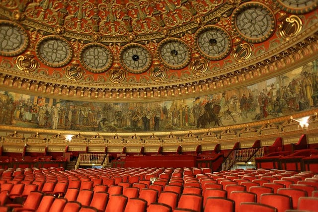 Things to do in Bucharest - The Romanian Athenaeum