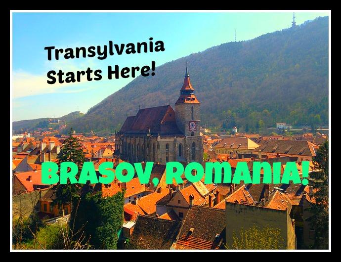 The Edge of Romania's Transylvania: Brasov!