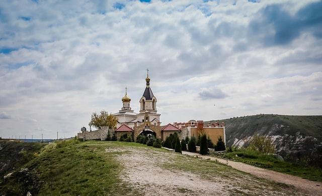 St. Maria's in Orheiul Vechi, Moldova
