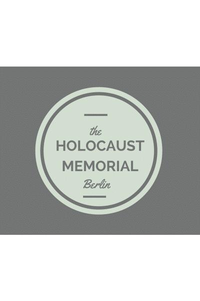 Post-Humanist Berlin: The Holocaust Memorial, Berlin
