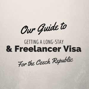 getting a freelance visa in the czech republic