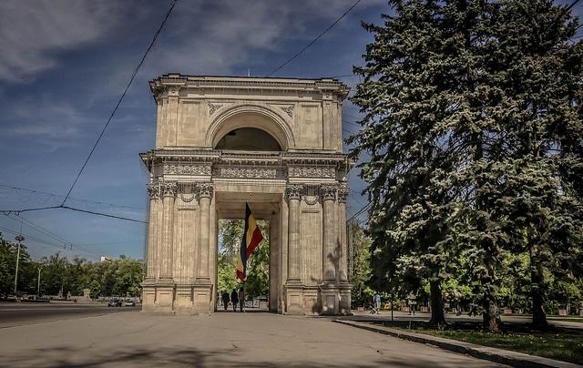 Chisinau's Arch of Triumph