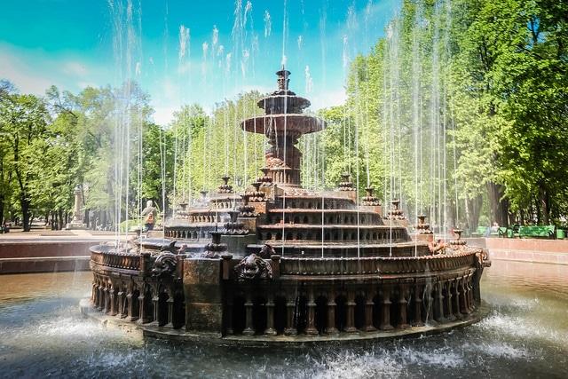 Fountain in Chisinau, Moldova