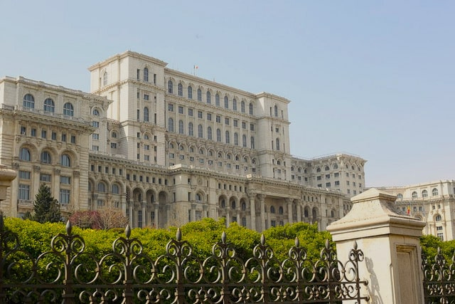 Things to do in Bucharest - The Palace of Parliament