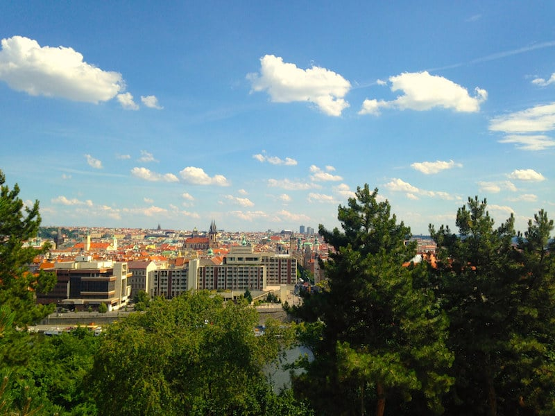 Another view from Letna Park, Prague, Czech Republic